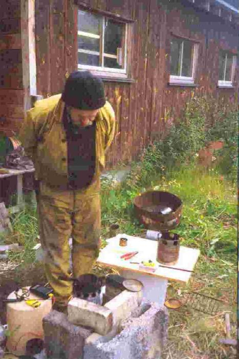 Taste stuffing homemade stove like making top